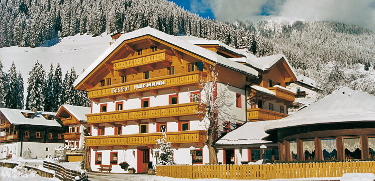 Hotel Hofmann in winter